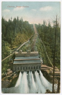 Electron Power Station, Puyallup, Washington, circa 1907-1909
