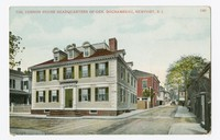 Vernon House Headquarters of Gen. Rochambeau, Newport, Rhode Island, 1907-1914