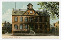 Old State House, Newport, Rhode Island, circa 1907-1914