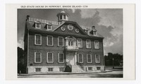 Old State House in Newport, Rhode Island--1739, circa 1939 to date, 1939