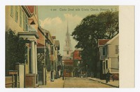 Clarke Street with Trinity Church, Newport, Rhode Island, 1901-1907