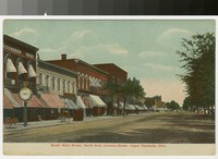 South Main Street, Upper Sandusky, Ohio, 1907-1914