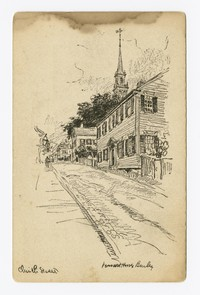 Church Street, Newport, Rhode Island, 1919