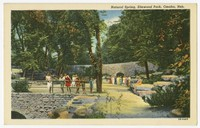 Natural Spring, Elmwood Park, Omaha, Nebraska, 1930-1947