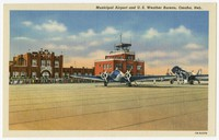 Municipal Airport and U.S. Weather Bureau, Omaha, Nebraska, 1930-1944