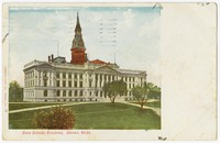 High school building, Omaha, Nebraska, 1901-1908
