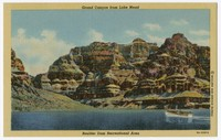 Grand Canyon from Lake Mead, Boulder Dam Recreational Area, Boulder City, Nevada, 1930-1951