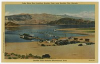 Lake Mead boat landing, Boulder Dam, near Boulder City, Nevada, 1930-1951