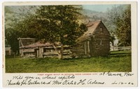 First house built in Nevada near Carson City, 1901-1907