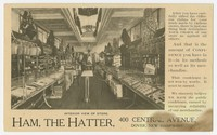 Ham The Hatter, Dover, New Hampshire, 1901-1907