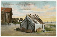 """One of the first in Tonopah, Nevada, """"Jim Butler's Tent"""", Tonopah, Nevada, 1907-1914"""