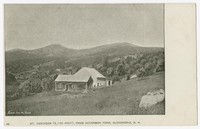 Mt. Cardigan (3156 Feet), from Ackerman Farm, Alexandria, New Hampshire, 1901-1907