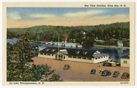 Bay View Pavilion on Lake Winnipesaukee, Alton Bay, New Hampshire, 1930-1950