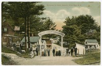 Entrance to Camp Ground, Alton Bay, New Hampshire, 1907-1914
