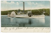 Steamer Mount Washington, Alton Bay, New Hampshire, 1901-1906