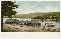 Steamboat landing, Alton Bay, New Hampshire, 1901-1907