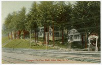 Cottages on Pine Bluff, Alton Bay, New Hampshire, 1907-1914