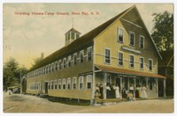 Boarding house at campground, Alton Bay, New Hampshire, 1907-1914