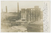 No. 1 mill destroyed in fire in Dover, New Hampshire, 1907