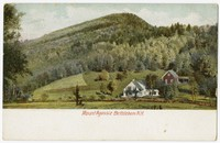 Mount Agassiz, Bethlehem, New Hampshire, 1907-1914