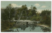 Loon Cove Bridge, Alton Bay, New Hampshire, 1907-1914
