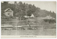 Loon Cove Station, Alton Bay, New Hampshire, 1915-1930