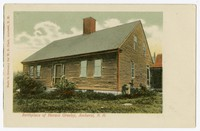 Birthplace of Horace Greeley, Amherst, New Hampshire, 1901-1907