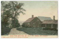 Horace Greeley birthplace, born Feb. 11, 1811, Amherst, New Hampshire, 1901-1907