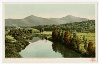 Mt. Garfield and Mt. Lafayette, from the Ammonoosuc, White Mountains, New Hampshire, 1901-1907