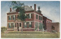 Strafford County Jail, Dover, New Hampshire, 1907-1914