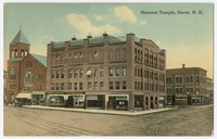 Masonic Temple, Dover, New Hampshire, 1907-1914