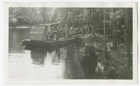 WPA Project No. 309, cleaning Pocomoke River, Worcester County, Maryland, September 13, 1937