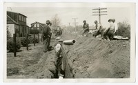 WPA Project No. 3169, Water Mains, West Annapolis, Maryland, April 19, 1938