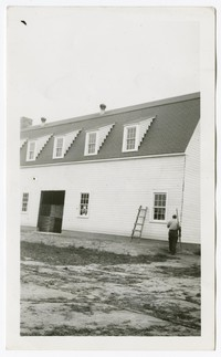 WPA Project No. 3788, Hopkins Farm, Fairland, Maryland, October 15, 1940