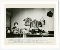 WPA Project No. 290, women sewing, Talbot County, Maryland, circa 1930-1940