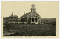 Grange Hall and School, East Andover, New Hampshire, 1915-1930