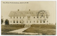 Cary House Proctor Academy, Andover, New Hampshire, 1907-1914
