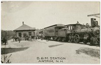 B&M Station, Antrim, New Hampshire, 1907-1914