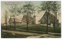 Town Hall, Episcopal church and parish house, Ashland, New Hampshire, 1901-1907