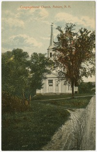 Congregational Church, Auburn, New Hampshire, 1907-1914