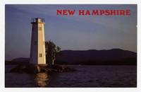Loon Island Light, Lake Sunapee, New Hampshire, 1960-1980