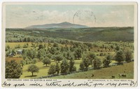 New England Views on Boston and Maine R.R., Mt. Monadnock from Beech Hill, New Hampshire, 1901-1907