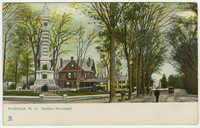 Soldiers Monument, Nashua, New Hampshire, 1901-1907