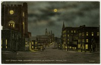 Main Street from Soldiers' Monument, Nashua, New Hampshire, 1907-1914