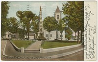 First Church and Monument, Nashua, New Hampshire, 1901-1907