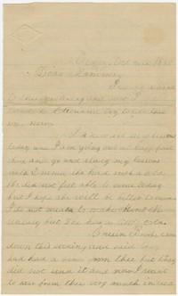 To Anna Farquhar Brooke -- From Edith F. Brooke Green