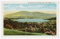 Mt. Kearsarge and Pleasant Lake, Lake Sunapee, New Hampshire, 1930-1944