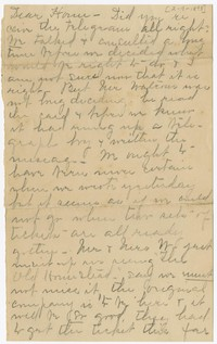 "To Charles H. Brooke with Brooke Family at ""Falling Green"" -- From Edith F. Brooke Green"