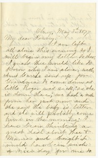 To Henry Brooke -- From Edith [Farquhar]