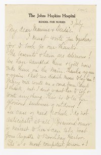 To Mary B. Brooke with Edith F. Brooke Green -- From A. F. B. Kelly